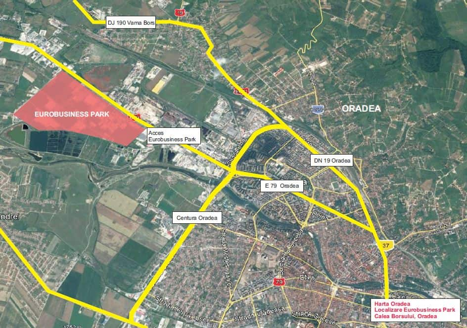 Eurobusiness Park Spaţii Logistice De Inchiriat In Oradea
