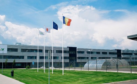 Eurobusiness Park I Oradea inchirieri spatii industriale Oradea nord-vest vedere ansamblu