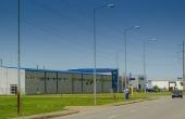 Eurobusiness Park I Oradea inchiriere spatii depozitare si productie Oradea nord-vest vedere laterala