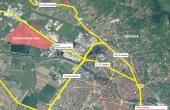 Eurobusiness Park I Oradea inchiriere spatii depozitare si productie Oradea nord-vest vedere satelit