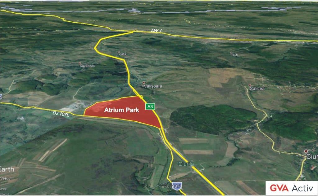 Parc Industrial Langa Autostrada A3 Cluj Napoca