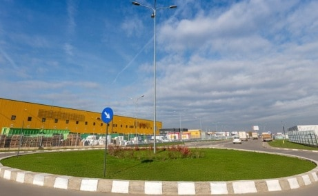 P3 Logistics Park - spatiu de depozitare Bucuresti vest imagine zona proprietate