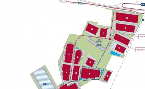 P3 Logistics Park - Parc Logistic In Dezvoltare inchiriere Bucuresti vest schita proprietate