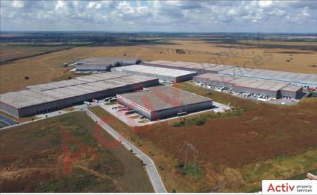 Inchiriere spatiu de depozitare Bucuresti vest, P3 Logistic Park, vedere de ansamblu parc logistic