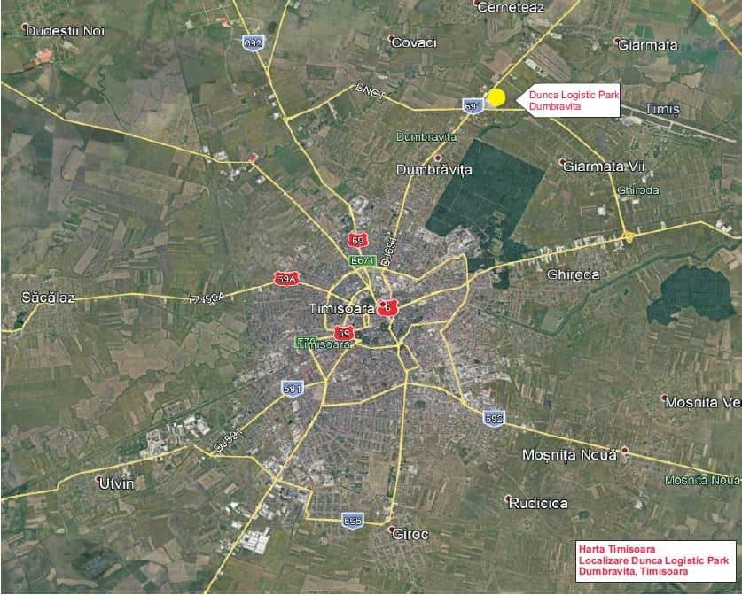 Dunca Logistic Park Spaţii Industriale De Inchiriat In Timisoara