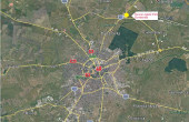 Dunca Logistic Park inchiriere spatiu depozitare Timisoara nord vedere google map