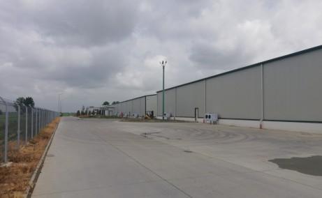 Aluti&Valsi Cold Storage inchiriere spatiu depozitare frig Bucuresti est vedere laterala de ansamblu