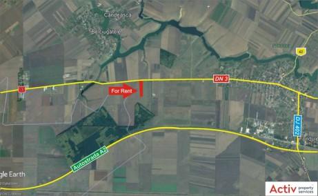 Aluti&Valsi Cold Storage inchiriere spatiu depozitare frig Bucuresti est vedere din satelit