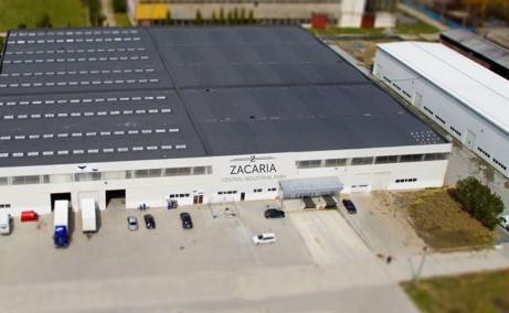Central Industrial Park spatii depozitare de inchiriat Sibiu este platforma acces tir