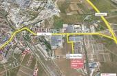 Central Industrial Park spatii depozitare de inchiriat Sibiu este localizare google map