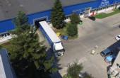 General Industrial Park inchirieri spatii depozitare Sibiu est platforma acces tir
