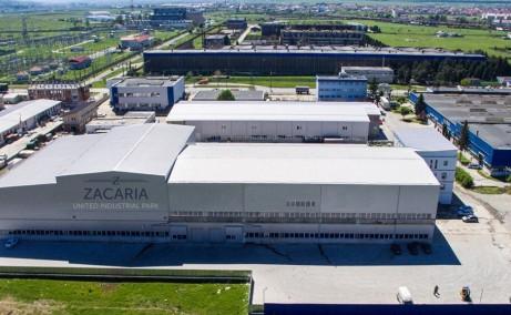United Industrial Park inchirieri parcuri industriale Sibiu est vedere ansamblu