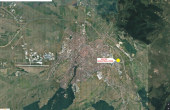 United Industrial Park inchirieri parcuri industriale Sibiu est localizare harta