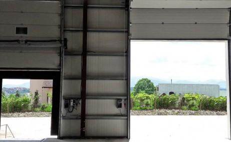 Imperial Industrial Park inchirieri spatii de depozitare sau productie Sibiu vest vedere acces intrare