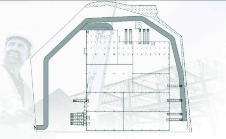 Imperial Industrial Park inchirieri spatii de depozitare sau productie Sibiu vest plan