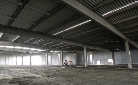 Network Industrial Park inchirieri spatii depozitare sau productie Sibiu est interior hala