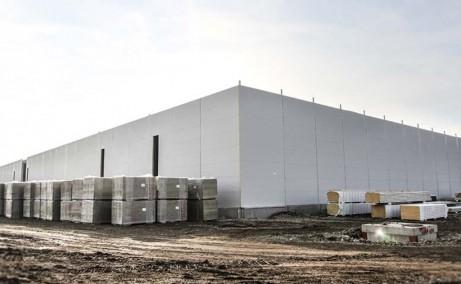 Network Industrial Park inchirieri spatii depozitare sau productie Sibiu est vedere ansamblu