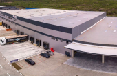 Network Industrial Park inchirieri spatii depozitare sau productie Sibiu est cladire in constructie