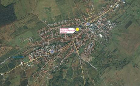 Hermann Industrial Park inchirieri spatii de depozitare CIsnadie centru localizare harta