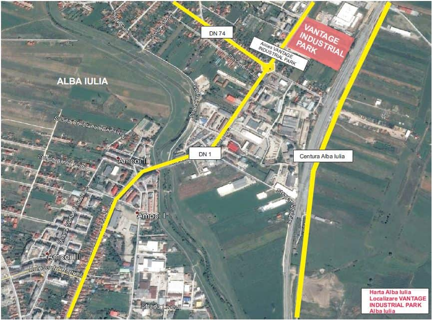 Vantage Industrial Park Logistics Warehouses For Rent In Alba Iulia