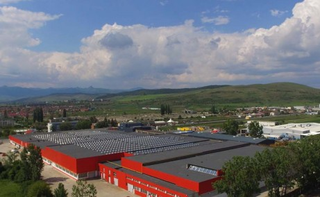 Vantage Industrial Park inchiriere spatii de depozitare Alba Iulia nord vedere ansamblu