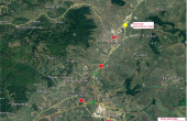 Vantage Industrial Park inchiriere spatii de depozitare Alba Iulia nord localizare harta