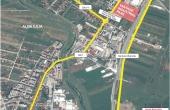 Vantage Industrial Park inchiriere spatii de depozitare Alba Iulia nord vedere satelit