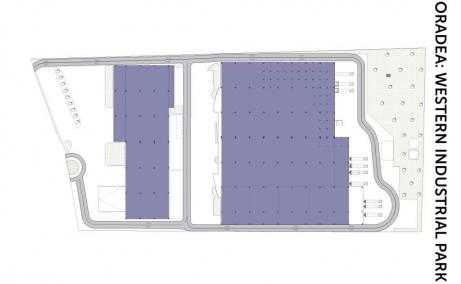 Western Logistics Oradea inchiriere hale industriale Oradea nord-vest plan